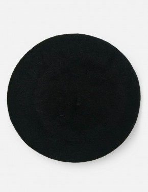 BERET HAT BLACK