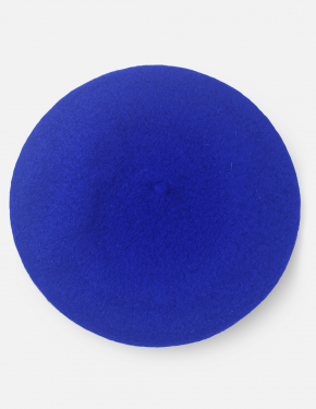 BERET HAT KLEIN BLUE