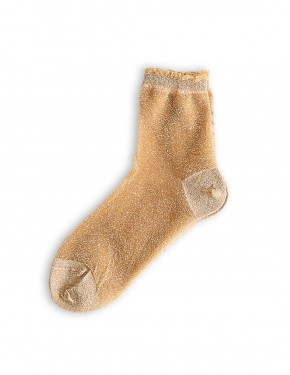 GLITTER SOCKS GOLD