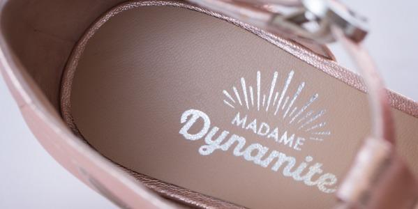Madame Dynamite: el zapato con nombre de mujer