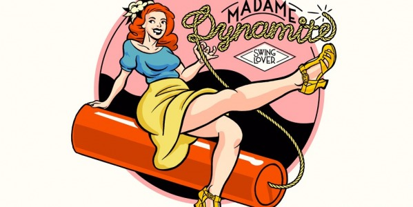 Madame Dynamite comes to life in a delightful illustration